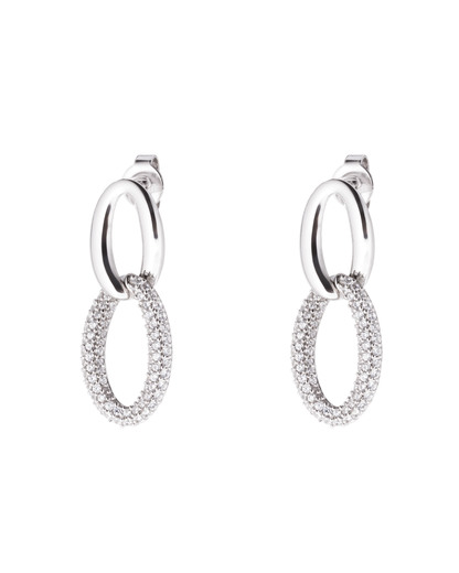 Ohrhänger Braid Glam Slim Double 925 Sterling Silber Esprit 4891945921064