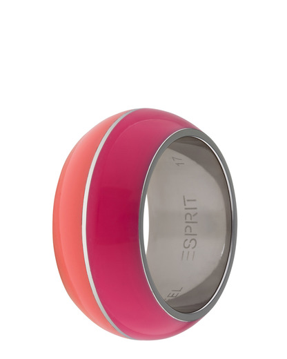 Ring Marin 68 Pink Coral Resin Esprit