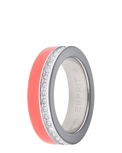 Ring Marin 68 Glam Coral Resin Esprit