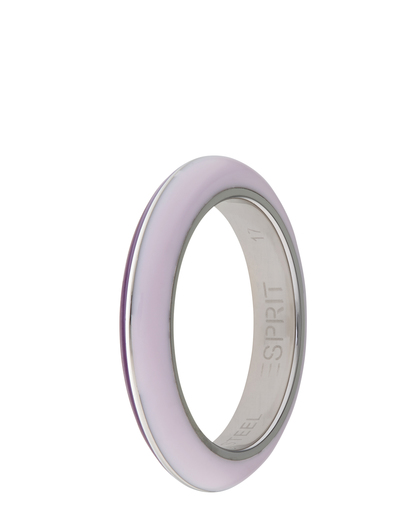 Ring Marin 68 Lavender Purple Resin Esprit