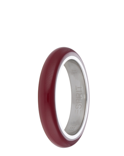 Ring Marin 68 Red Resin Esprit
