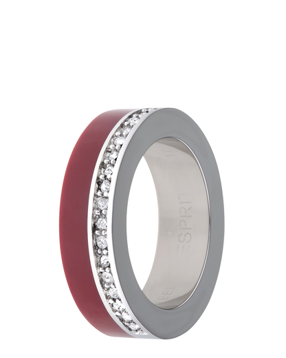 Ring Marin 68 Glam Red Resin Esprit