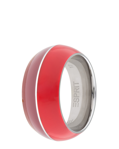 Ring Marin 68 Red Light Red Resin Esprit