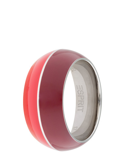 Ring Marin 68 Red Light Red Resin Esprit rot