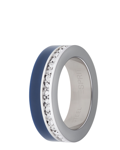 Ring Marin 68 Glam Blue Resin Esprit