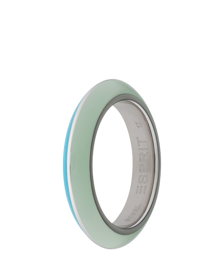 Ring Marin 68 Turquoise Light Green Resin Esprit