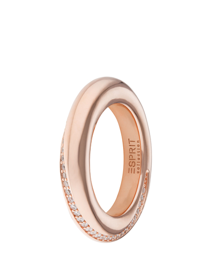 Ring Peribess Rose Gold 925 Sterling Silber Esprit Collection