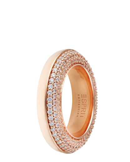 Ring Perimagna Glance Rose 925 Sterling Silber Esprit Collection