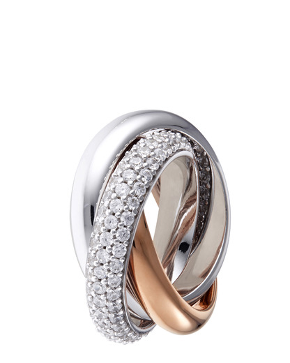 Ring Periboia Rose 925 Sterling Silber Esprit Collection