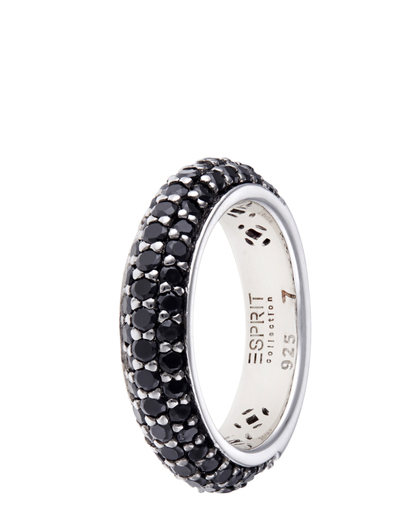 Ring Amorbess Night 925 Sterling Silber Esprit Collection