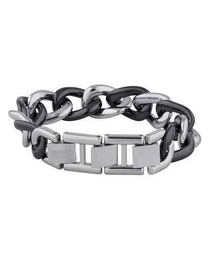 Armband Ceramia Black Keramik Esprit Collection schwarz,silber  4891945921972