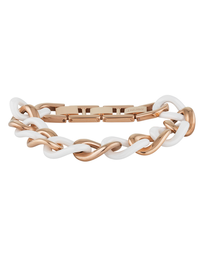 Armband Ceramia White Rose Keramik Esprit Collection roségold,weiß  4891945921989
