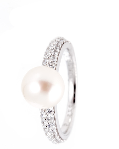 Ring Pearl Sphere 925 Sterling Silber Esprit