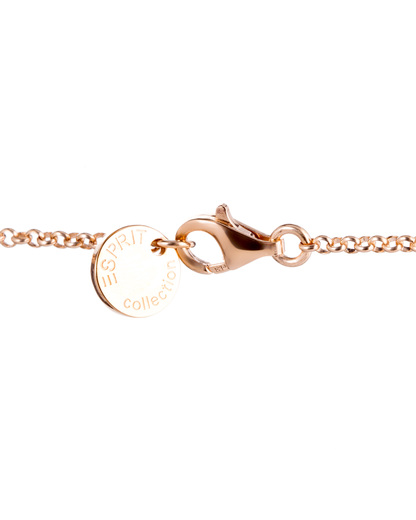 Halskette Delia 925 Sterling Silber Esprit Collection roségold Zirkonia 4891945410322