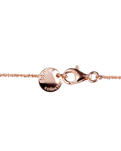 Halskette Pelia 925 Sterling Silber Esprit Collection roségold Zirkonia 4891945410605