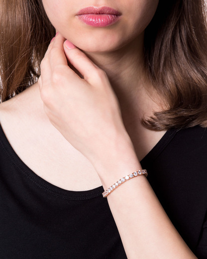 Armband Idya Pure Edelstahl Esprit Collection roségold Zirkonia 4891945404475