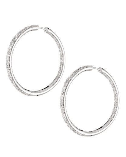 Creolen 925 Sterling Silber-Zirkonia Esprit Collection silber Zirkonia 4891945424930