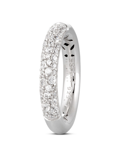 Ring 925 Sterling Silber-Zirkonia Esprit Collection