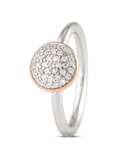 Ring Charming Grace aus 925 Sterling Silber mit Zirkonia Esprit
