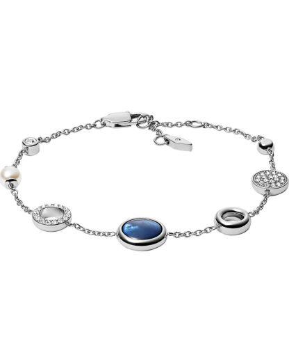 Armband aus Edelstahl FOSSIL Silber  4013496552683