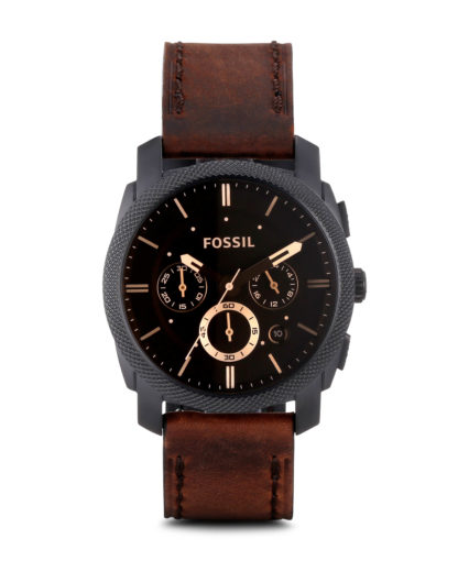Chronograph Machine FS4656 FOSSIL Braun 4051432293153