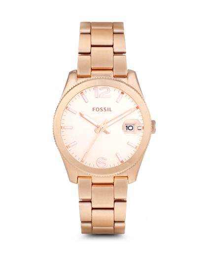 Quarzuhr Perfect Boyfriend ES3587 FOSSIL roségold 4053858262492