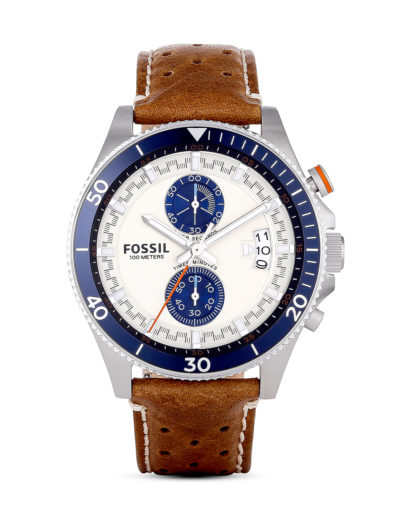 Chronograph Wakefield CH2951 FOSSIL braun 4053858399655