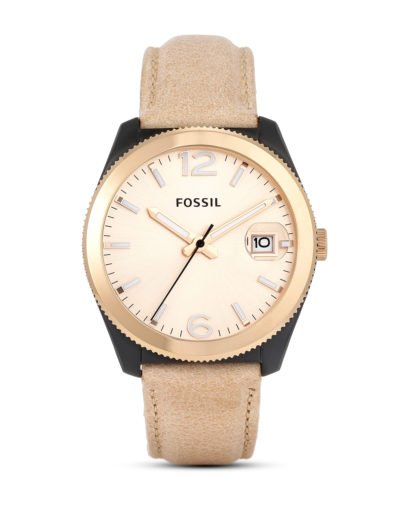 Quarzuhr Perfect Boyfriend ES3777 FOSSIL braun 4053858452695