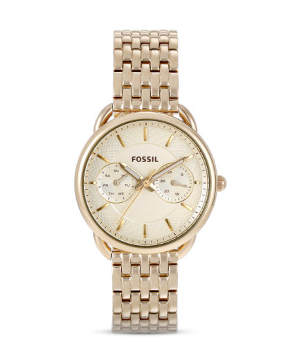 Chronograph Tailor ES3714 FOSSIL beige,gold 4053858395282