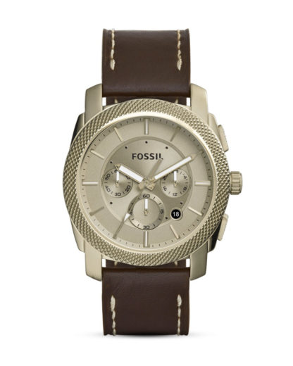 Chronograph Machine FS5075 FOSSIL braun,gold 4053858486553