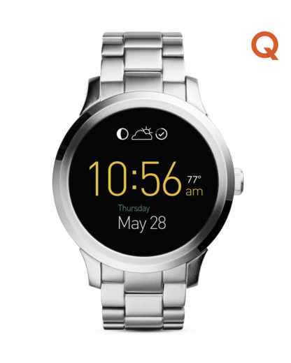 Smartwatch Q Founder FTW20002 FOSSIL Q silber 4053858600171