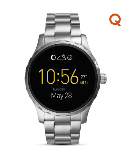 Smartwatch Q Marshal FTW2109 FOSSIL Q silber 4053858723320
