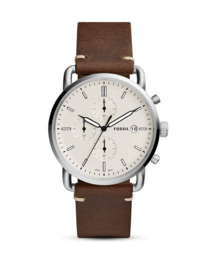 Chronograph The Commuter FS5402 FOSSIL Braun 4053858961173