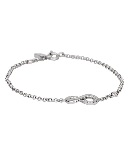 Armband Infinitive Love aus 925 Sterling Silber FOSSIL 4053858658493