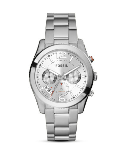 Quarzuhr Perfect Boyfriend ES3883 Fossil silber 4053858562660