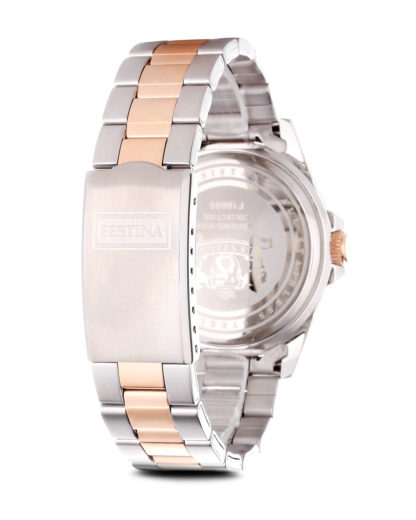 Quarzuhr Boyfriend Collection f16687/2 bronze-silber Festina Damen Edelstahl vergoldet 8430622580154