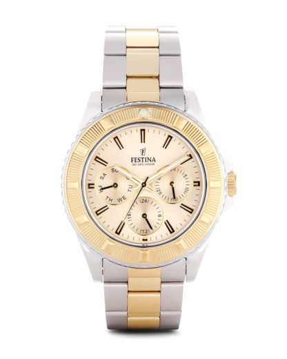 Quarzuhr Boyfriend Collection f16691/2 Festina gold,silber 8430622580291
