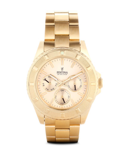 Quarzuhr Boyfriend Collection f16693/2 Festina gold 8430622580376