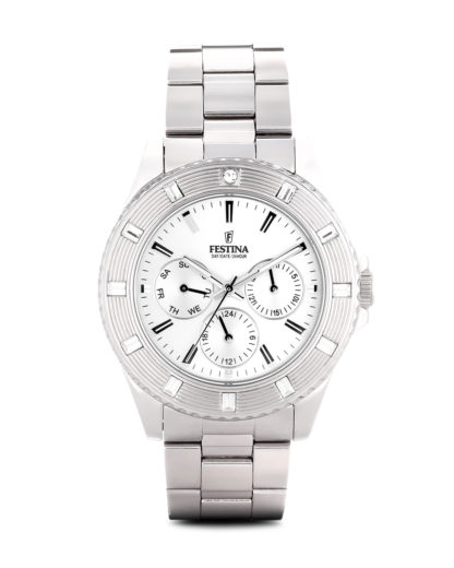 Quarzuhr Boyfriend Collection f16697/1 Festina silber,weiß 8430622580482