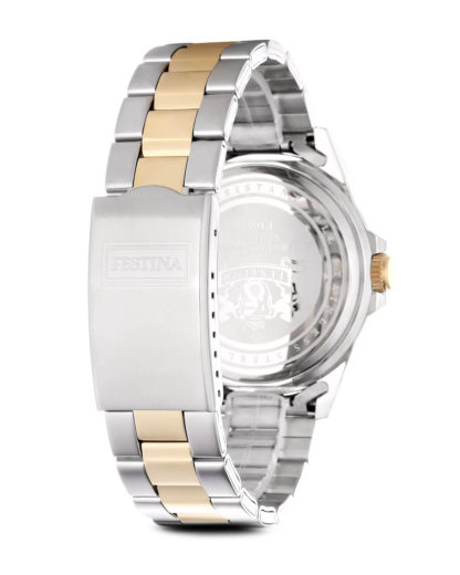 Quarzuhr Boyfriend Collection f16696/1 Festina Damen Edelstahl vergoldet 8430622580468