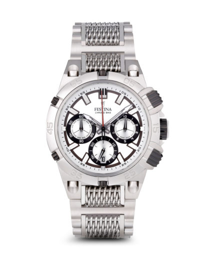 Chronograph Tour Chrono Bike 2014 f16774/1 Festina silber 8430622594892
