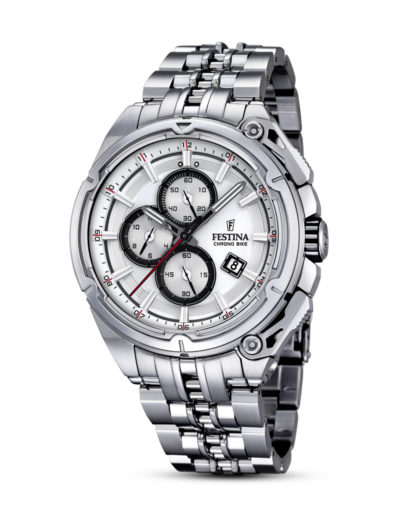 Chronoghaph Tour Chrono Bike 2015 F16881/1 Festina silber 8430622618994