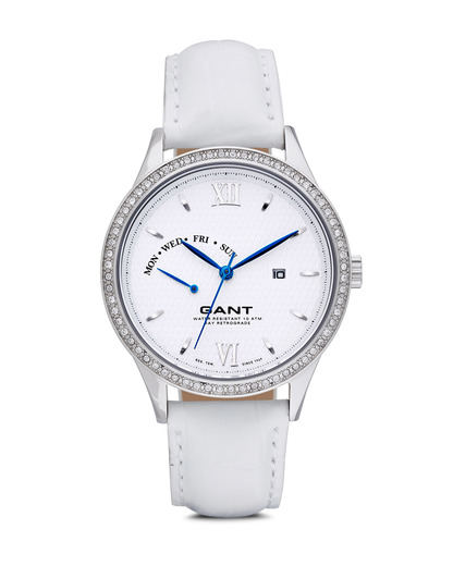 Quarzuhr Kingstown Lady W10765 GANT TIME silber,weiß 7340015318893
