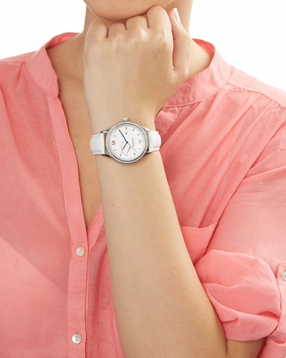 Quarzuhr Kingstown Lady W10765 GANT TIME Damen Leder 7340015318893
