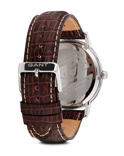 Quarzuhr Franklin W70432 GANT TIME Herren Leder 7340015322609