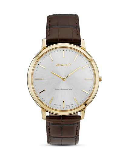 Quarzuhr Harrison W70604 GANT TIME braun,gold,silber 7340015325709