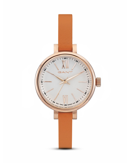 Quarzuhr Elizabeth W71401 GANT TIME orange,roségold,weiß 7340015327796