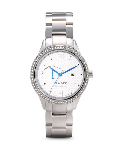 Quarzuhr Kingstown Lady W10762 GANT TIME silber 7340015318176