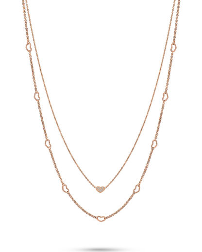 GMK Collection Damen-Kette Edelstahl 19 Zirkonia GMK Collection 4040615359243