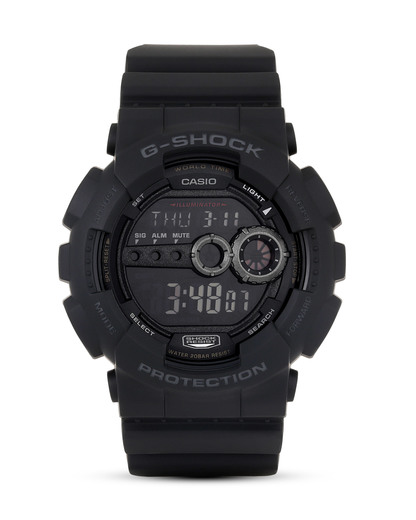 Digitaluhr GD-100-1BER G-SHOCK grau,schwarz 4971850925125